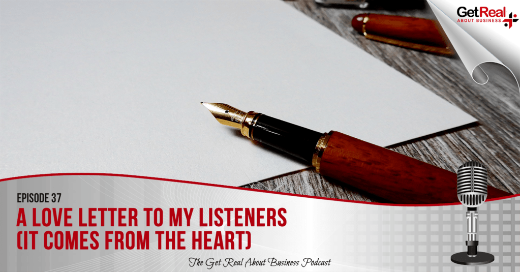 A Love Letter to My Listeners