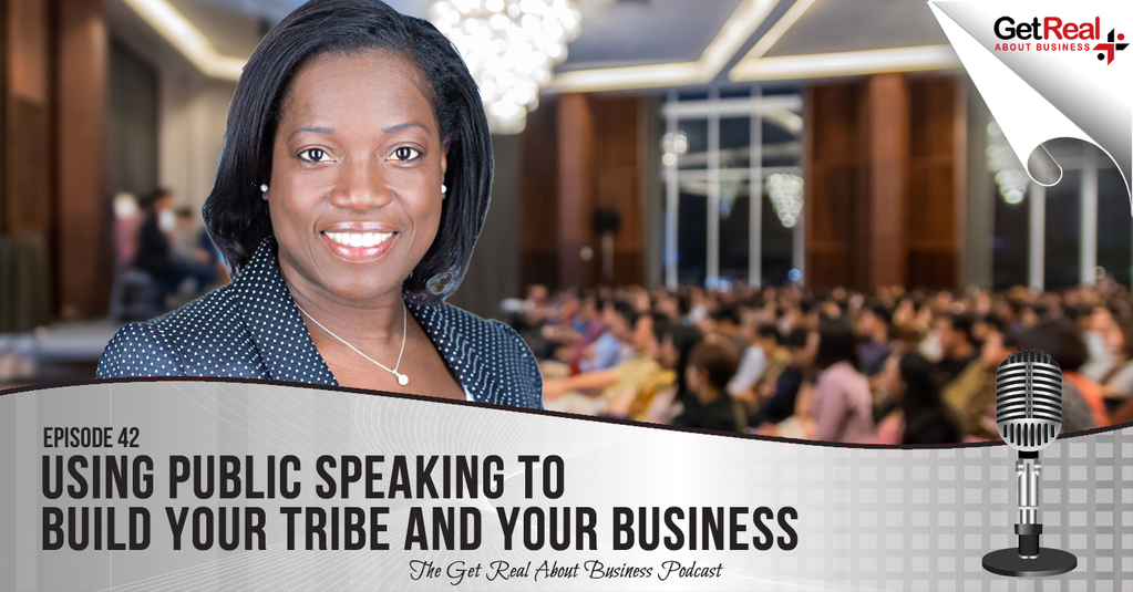 Using Public Speaking to Build Your Tribe & Your Business