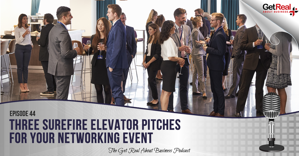 Three Surefire Elevator Pitches for Your Networking Event