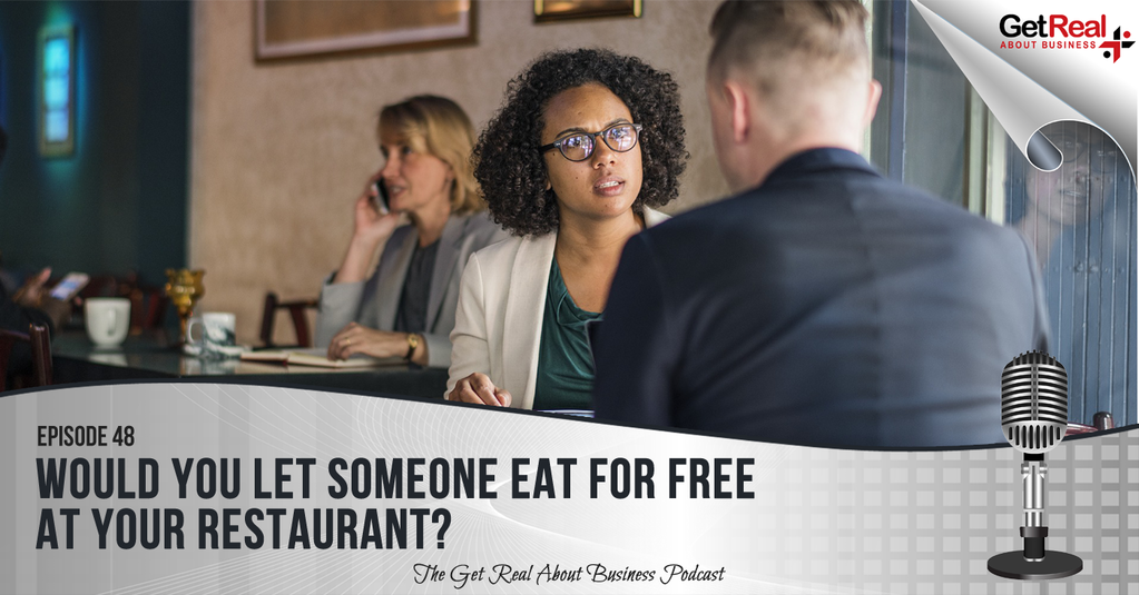 Would You Let Someone Eat for Free at Your Restaurant?