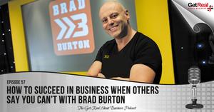 Podcast guest Brad Burton